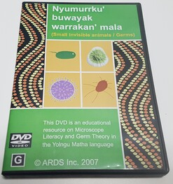 Nyumurrku' buwayak warrakan' mala-Small invisible animals/Germs-DVD